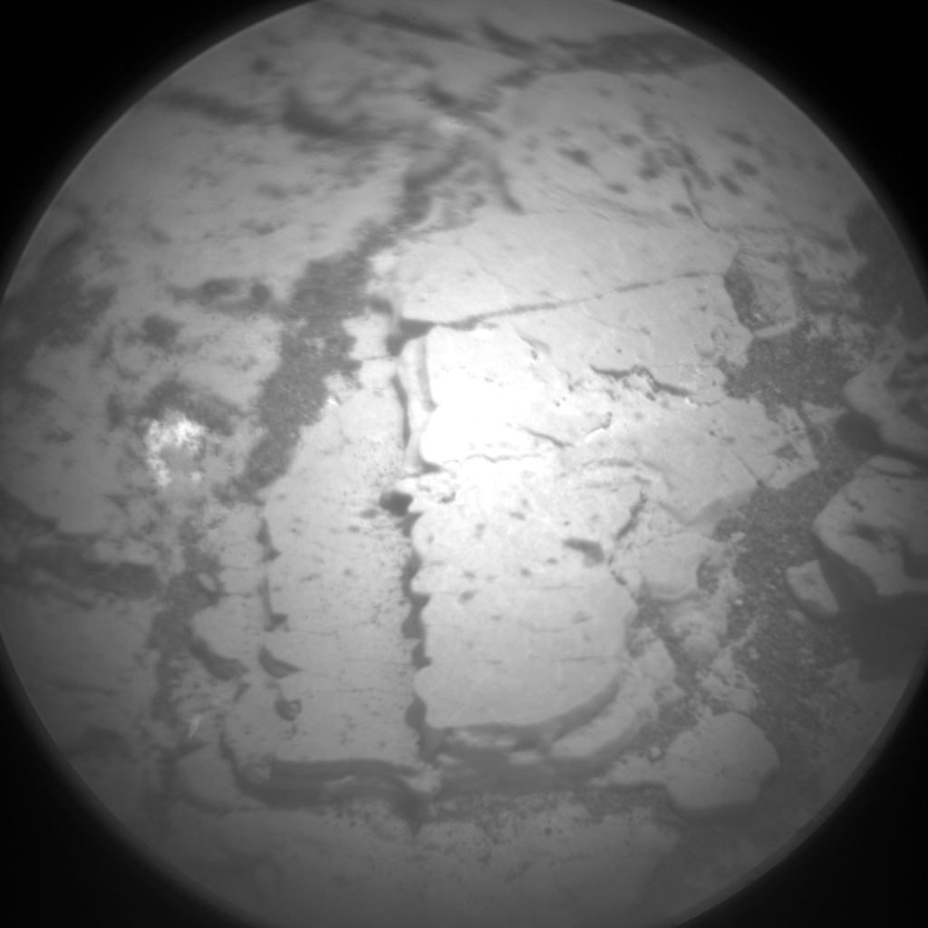 Nasa's Mars rover Curiosity acquired this image using its Chemistry & Camera (ChemCam) on Sol 2889, at drive 2176, site number 82