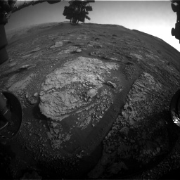 Nasa's Mars rover Curiosity acquired this image using its Front Hazard Avoidance Camera (Front Hazcam) on Sol 2889, at drive 2176, site number 82