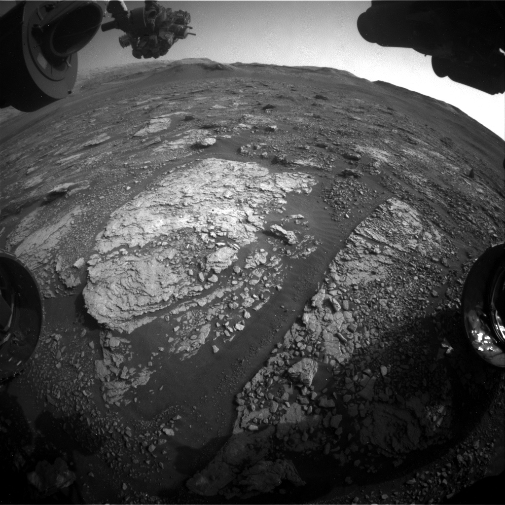 Nasa's Mars rover Curiosity acquired this image using its Front Hazard Avoidance Camera (Front Hazcam) on Sol 2890, at drive 2176, site number 82