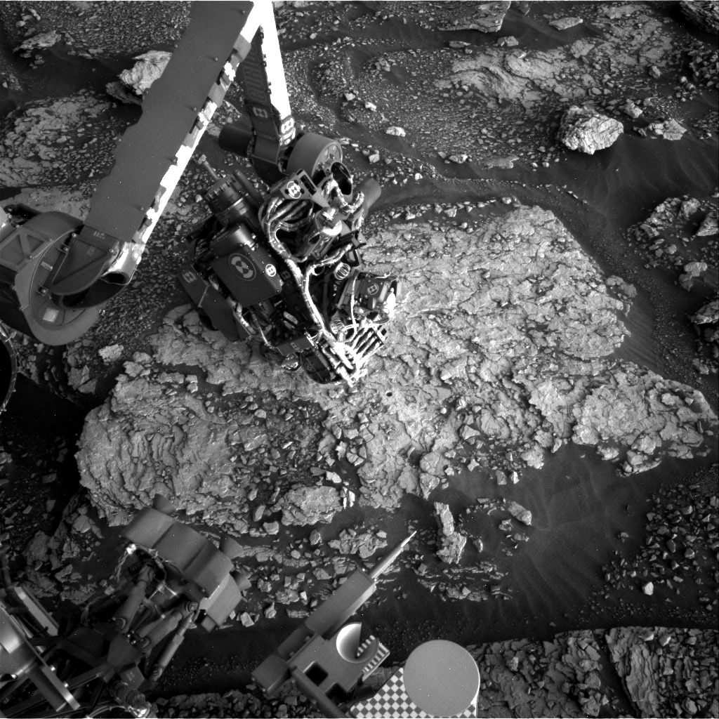 Nasa's Mars rover Curiosity acquired this image using its Right Navigation Camera on Sol 2890, at drive 2176, site number 82