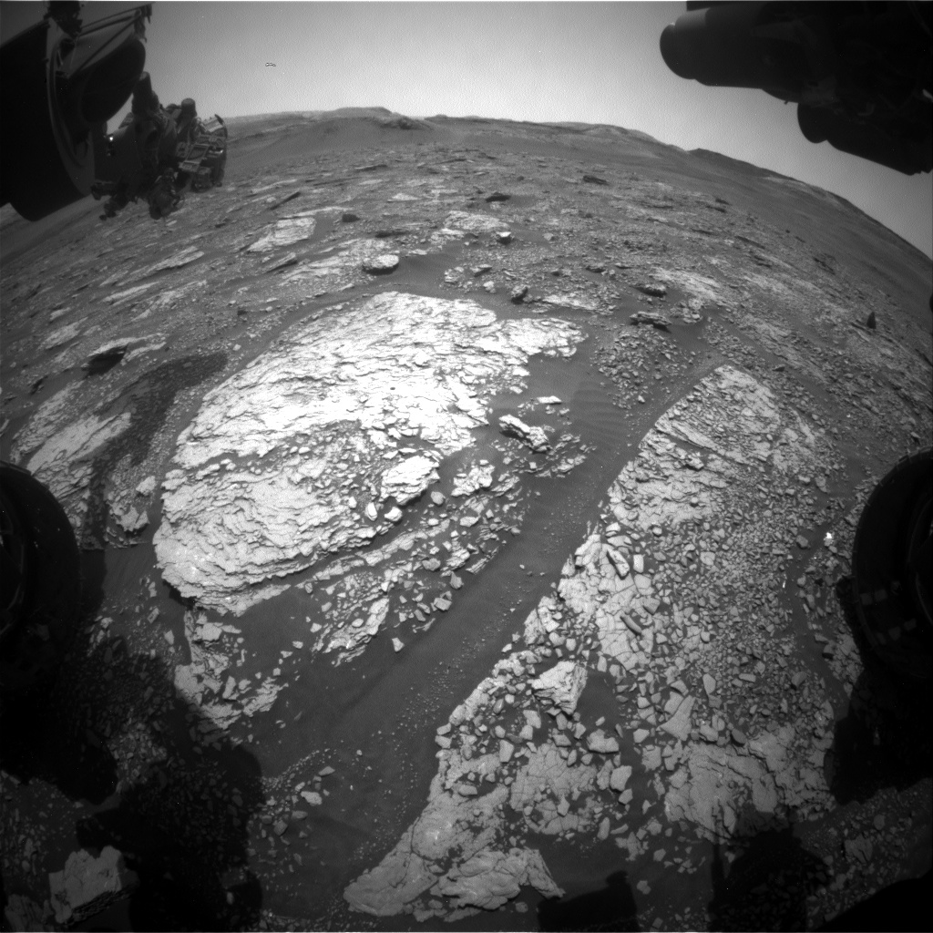 Nasa's Mars rover Curiosity acquired this image using its Front Hazard Avoidance Camera (Front Hazcam) on Sol 2891, at drive 2176, site number 82