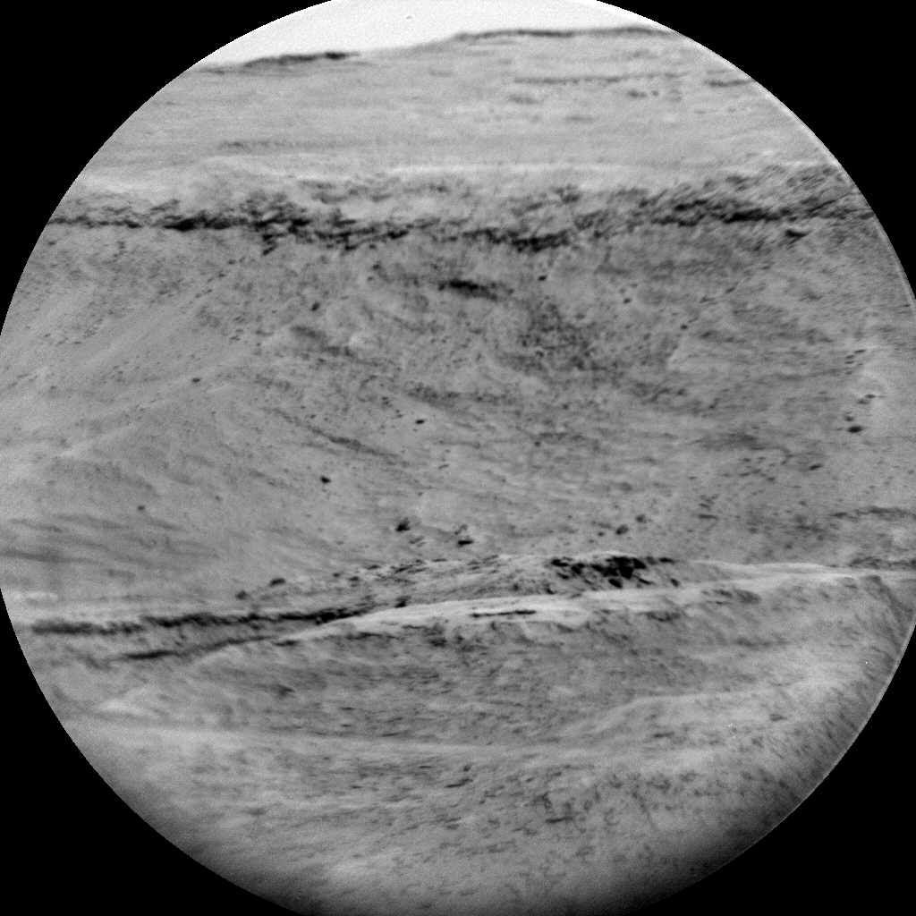 Nasa's Mars rover Curiosity acquired this image using its Chemistry & Camera (ChemCam) on Sol 2891, at drive 2176, site number 82