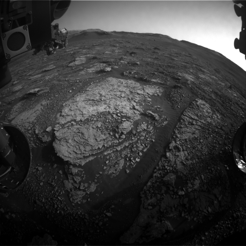 Nasa's Mars rover Curiosity acquired this image using its Front Hazard Avoidance Camera (Front Hazcam) on Sol 2892, at drive 2176, site number 82
