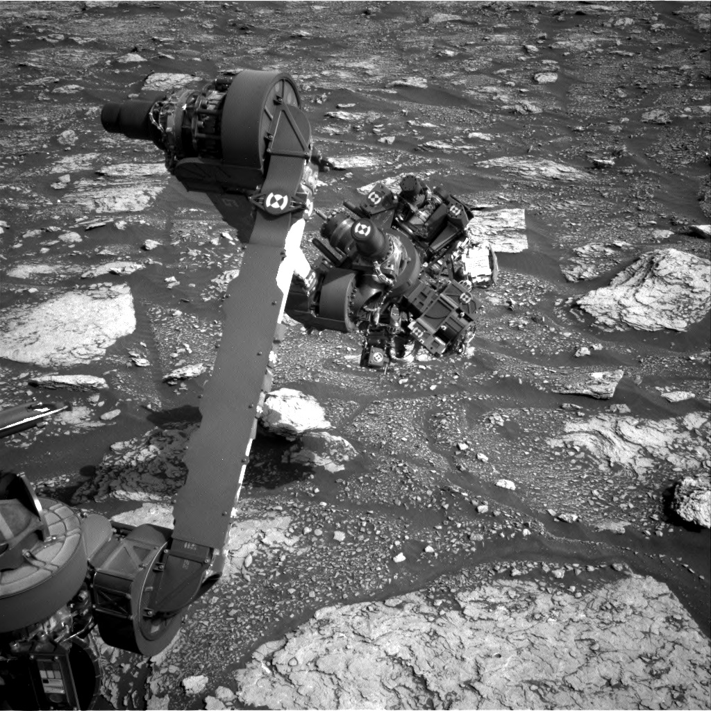 Nasa's Mars rover Curiosity acquired this image using its Right Navigation Camera on Sol 2897, at drive 2176, site number 82