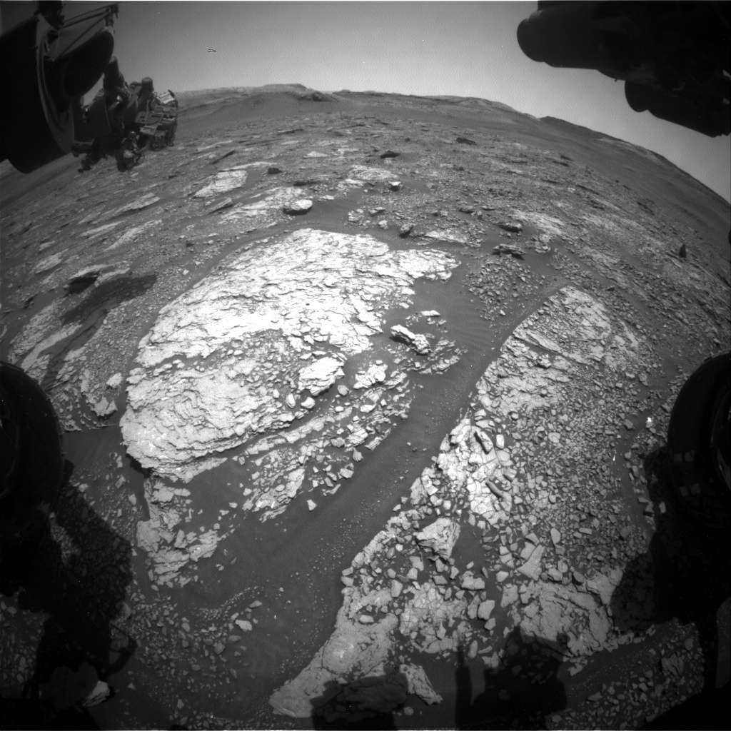 Nasa's Mars rover Curiosity acquired this image using its Front Hazard Avoidance Camera (Front Hazcam) on Sol 2899, at drive 2176, site number 82