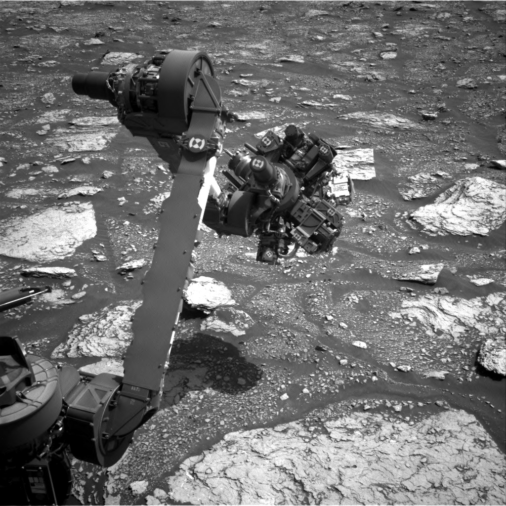 Nasa's Mars rover Curiosity acquired this image using its Right Navigation Camera on Sol 2899, at drive 2176, site number 82