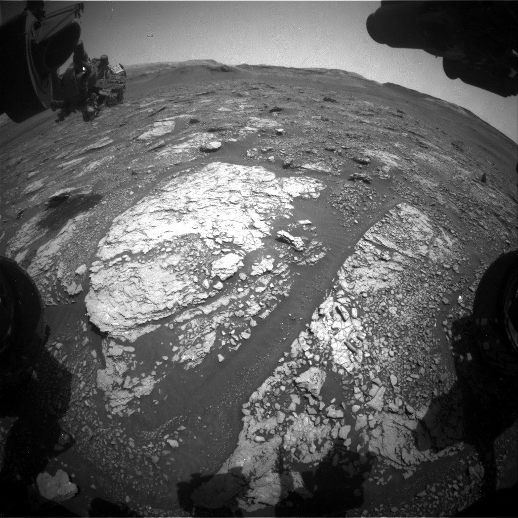 Nasa's Mars rover Curiosity acquired this image using its Front Hazard Avoidance Camera (Front Hazcam) on Sol 2901, at drive 2176, site number 82