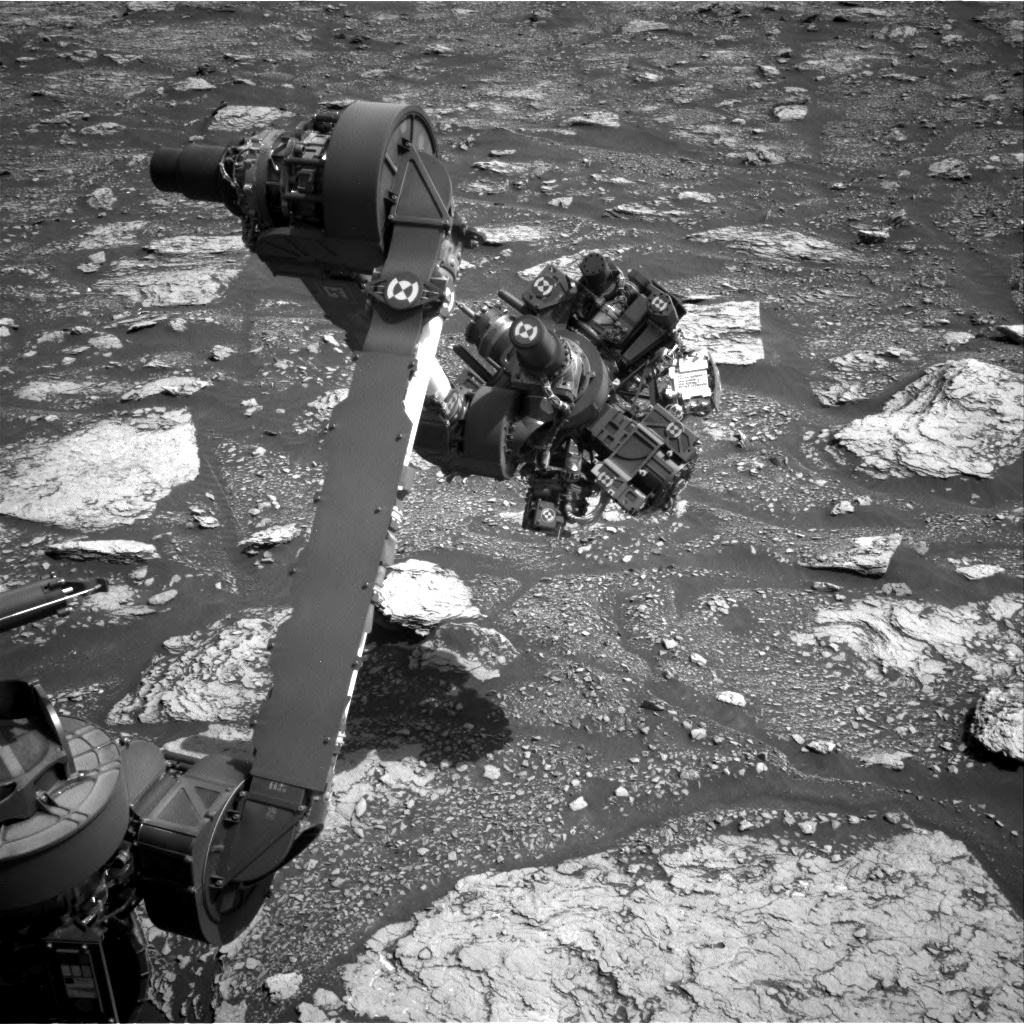 Nasa's Mars rover Curiosity acquired this image using its Right Navigation Camera on Sol 2901, at drive 2176, site number 82