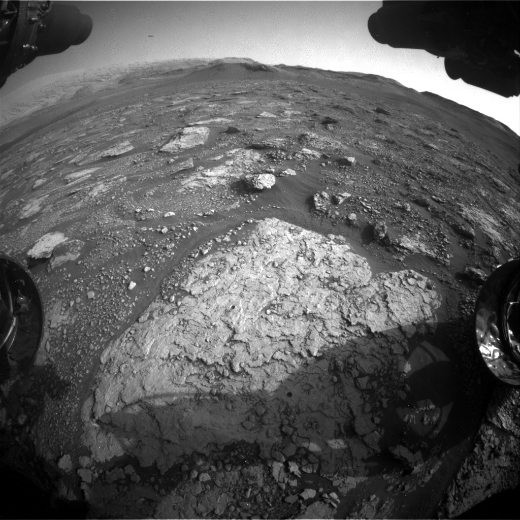 Nasa's Mars rover Curiosity acquired this image using its Front Hazard Avoidance Camera (Front Hazcam) on Sol 2904, at drive 2188, site number 82