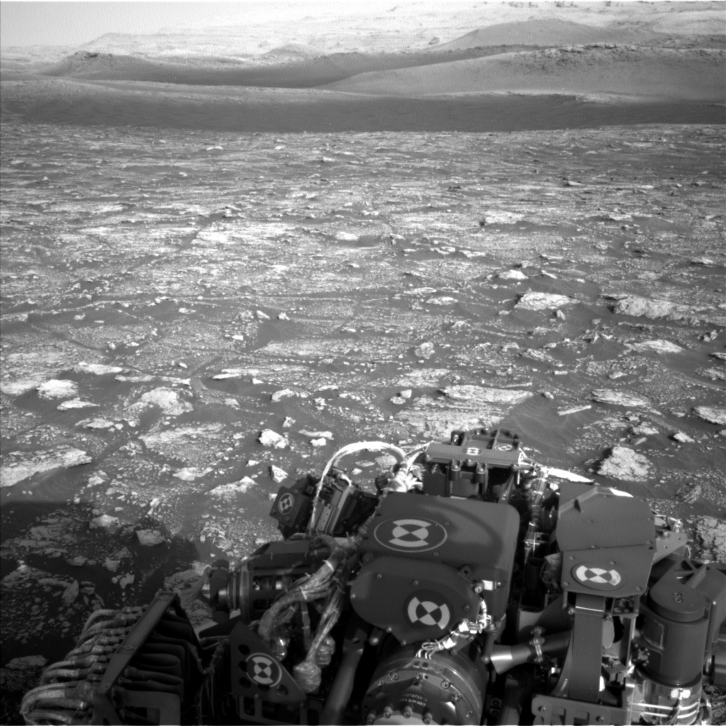 Nasa's Mars rover Curiosity acquired this image using its Left Navigation Camera on Sol 2904, at drive 2188, site number 82