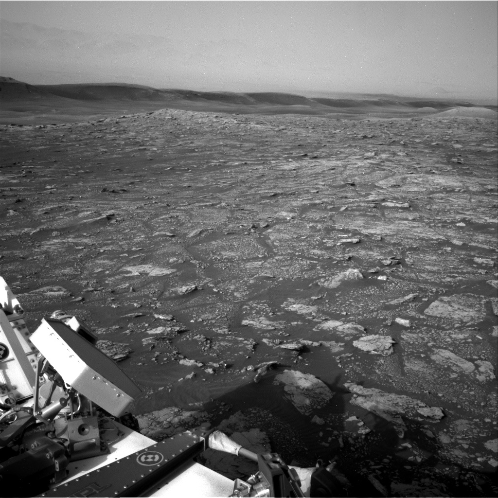 Nasa's Mars rover Curiosity acquired this image using its Right Navigation Camera on Sol 2904, at drive 2188, site number 82