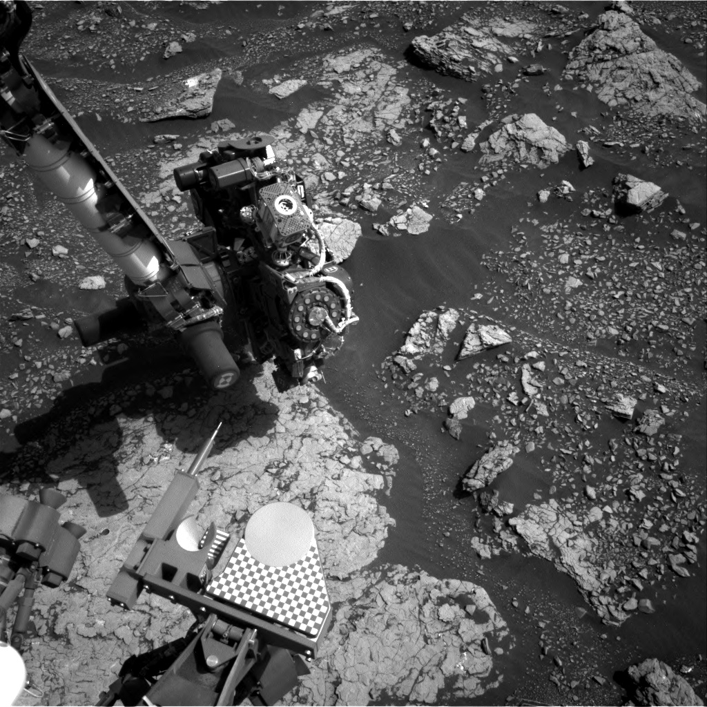 Nasa's Mars rover Curiosity acquired this image using its Right Navigation Camera on Sol 2906, at drive 2188, site number 82