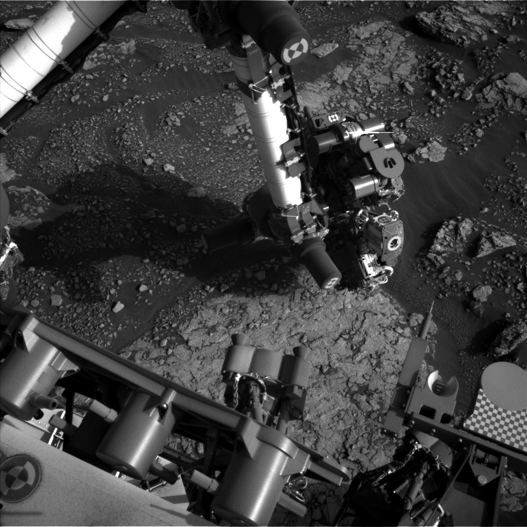 Nasa's Mars rover Curiosity acquired this image using its Left Navigation Camera on Sol 2908, at drive 2188, site number 82