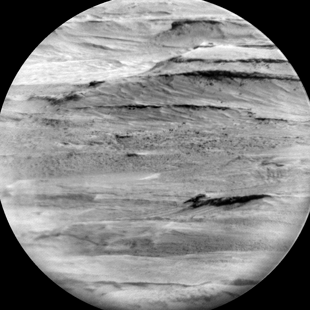 Nasa's Mars rover Curiosity acquired this image using its Chemistry & Camera (ChemCam) on Sol 2908, at drive 2188, site number 82