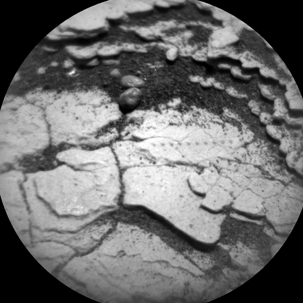 Nasa's Mars rover Curiosity acquired this image using its Chemistry & Camera (ChemCam) on Sol 2909, at drive 2188, site number 82
