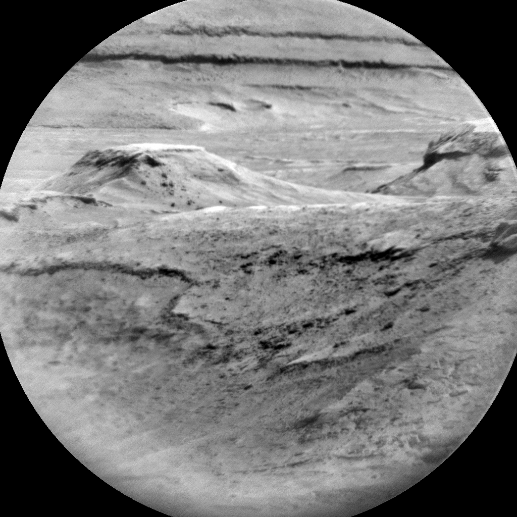Nasa's Mars rover Curiosity acquired this image using its Chemistry & Camera (ChemCam) on Sol 2910, at drive 2188, site number 82