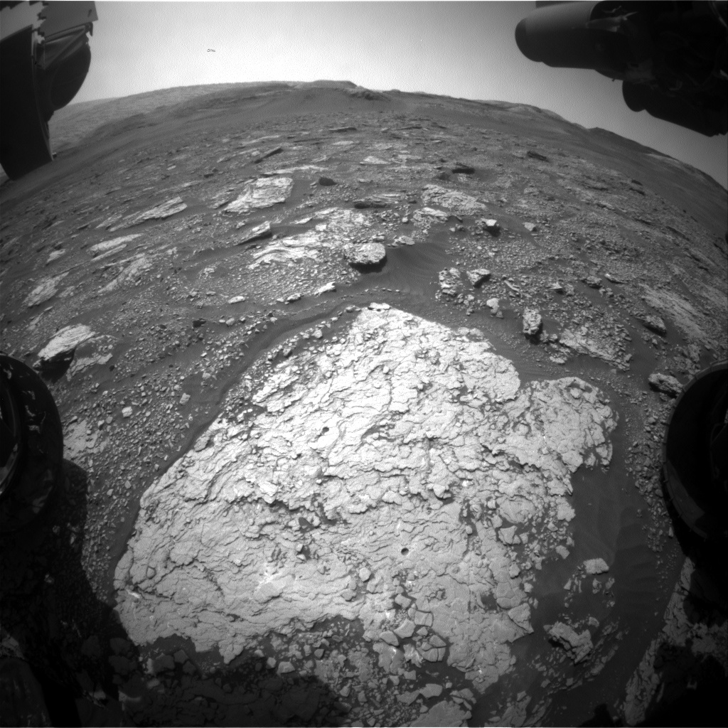 Nasa's Mars rover Curiosity acquired this image using its Front Hazard Avoidance Camera (Front Hazcam) on Sol 2915, at drive 2188, site number 82