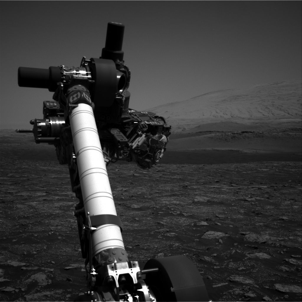 Nasa's Mars rover Curiosity acquired this image using its Right Navigation Camera on Sol 2922, at drive 2188, site number 82