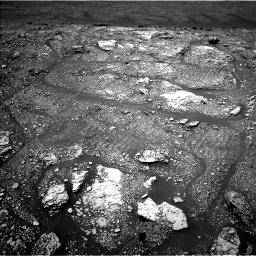 Nasa's Mars rover Curiosity acquired this image using its Left Navigation Camera on Sol 2923, at drive 2242, site number 82