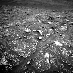 Nasa's Mars rover Curiosity acquired this image using its Left Navigation Camera on Sol 2923, at drive 2326, site number 82
