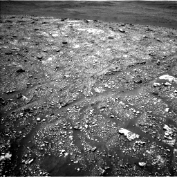 Nasa's Mars rover Curiosity acquired this image using its Left Navigation Camera on Sol 2923, at drive 2368, site number 82