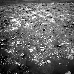 Nasa's Mars rover Curiosity acquired this image using its Left Navigation Camera on Sol 2923, at drive 2440, site number 82