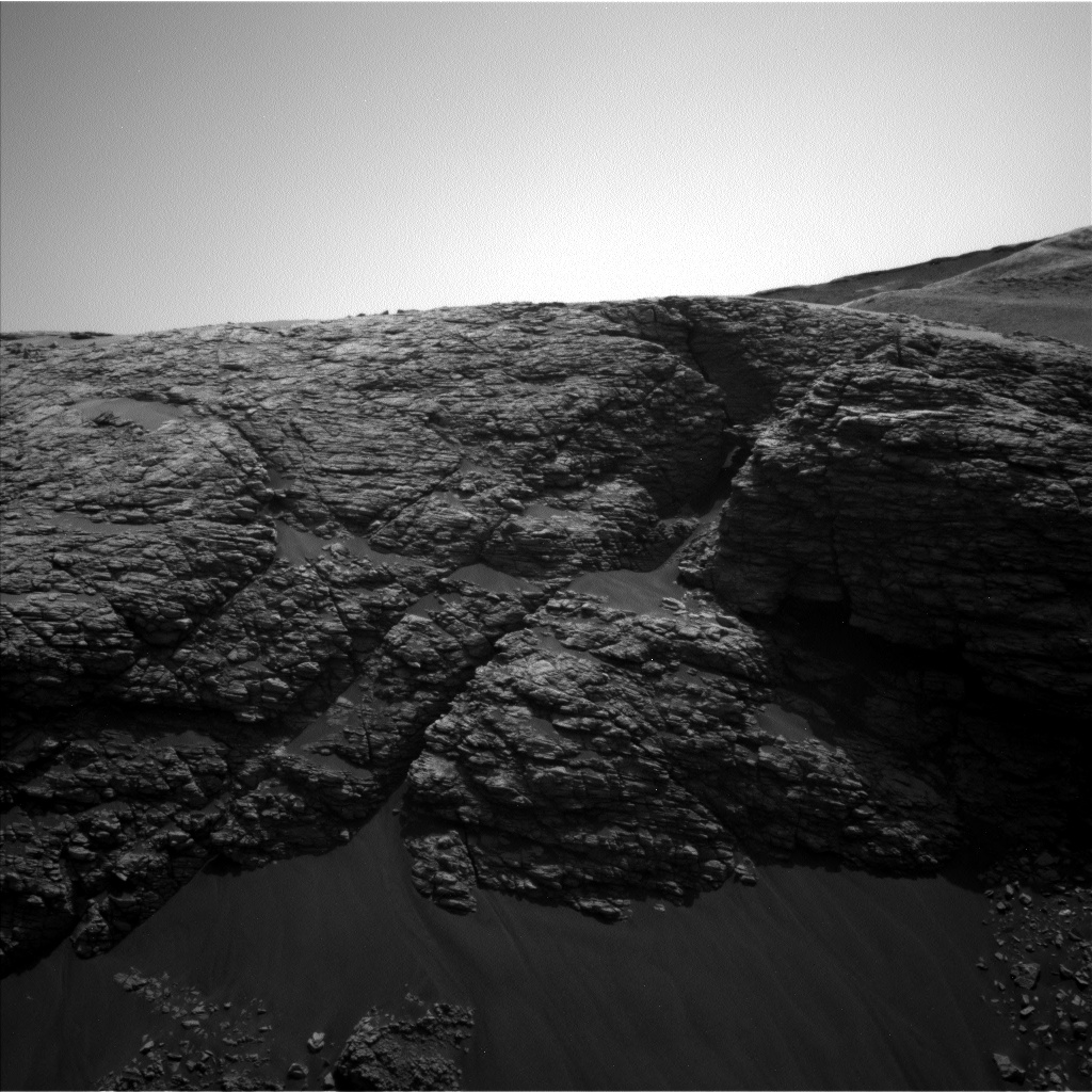 Nasa's Mars rover Curiosity acquired this image using its Left Navigation Camera on Sol 2923, at drive 2638, site number 82