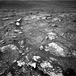 Nasa's Mars rover Curiosity acquired this image using its Right Navigation Camera on Sol 2923, at drive 2296, site number 82