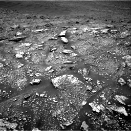 Nasa's Mars rover Curiosity acquired this image using its Right Navigation Camera on Sol 2923, at drive 2302, site number 82