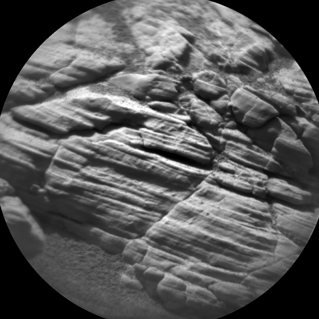 Nasa's Mars rover Curiosity acquired this image using its Chemistry & Camera (ChemCam) on Sol 2924, at drive 2638, site number 82