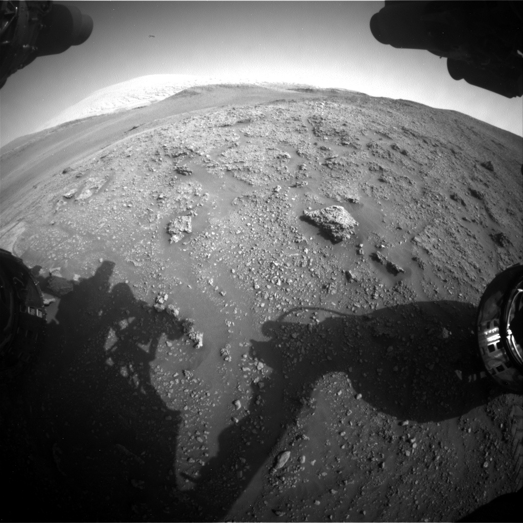 Nasa's Mars rover Curiosity acquired this image using its Front Hazard Avoidance Camera (Front Hazcam) on Sol 2926, at drive 306, site number 83