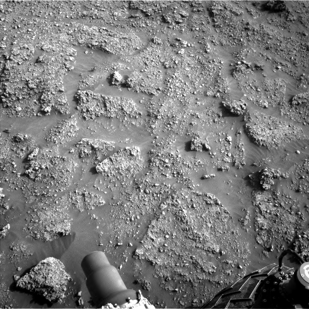 Nasa's Mars rover Curiosity acquired this image using its Left Navigation Camera on Sol 2926, at drive 306, site number 83