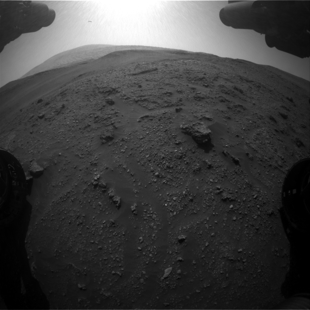 Nasa's Mars rover Curiosity acquired this image using its Front Hazard Avoidance Camera (Front Hazcam) on Sol 2927, at drive 306, site number 83