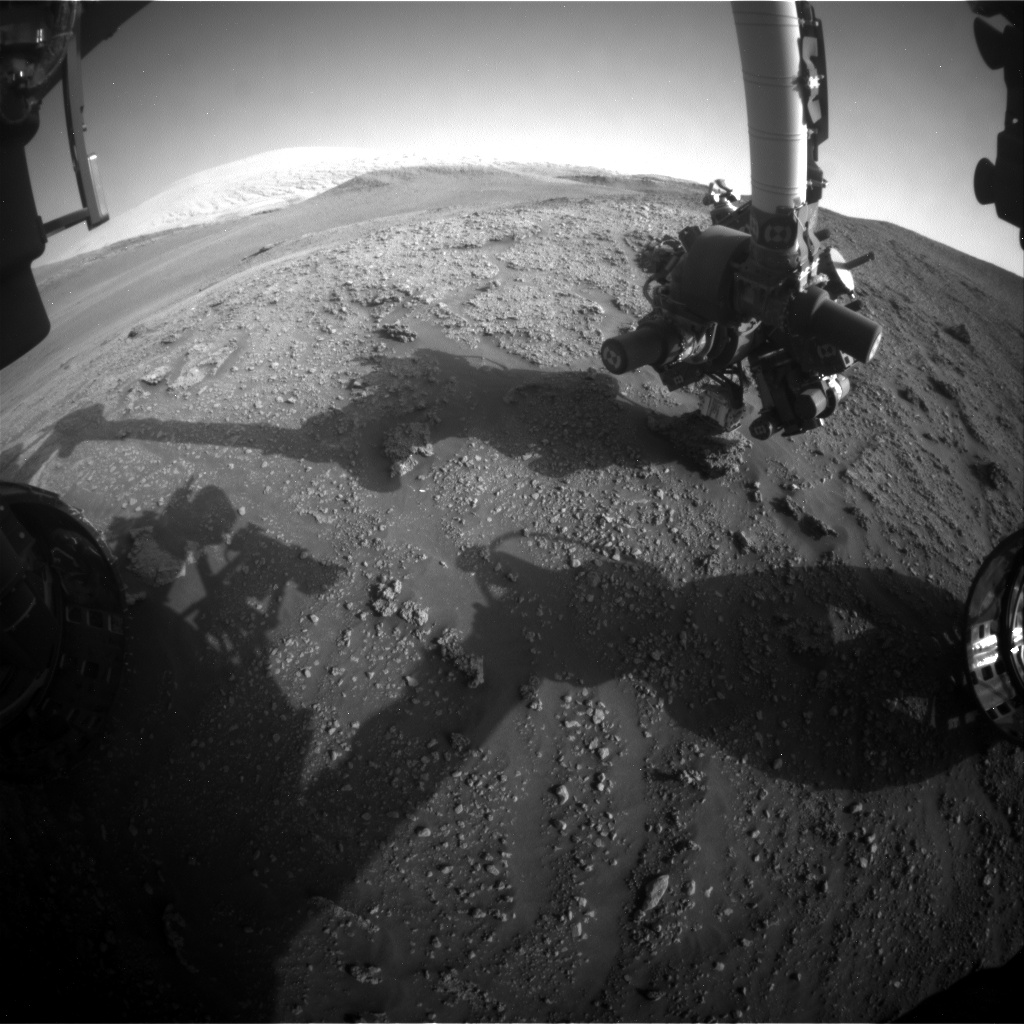 Nasa's Mars rover Curiosity acquired this image using its Front Hazard Avoidance Camera (Front Hazcam) on Sol 2928, at drive 306, site number 83