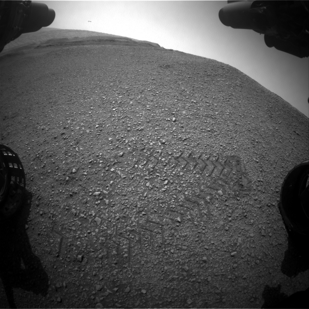 Nasa's Mars rover Curiosity acquired this image using its Front Hazard Avoidance Camera (Front Hazcam) on Sol 2930, at drive 424, site number 83