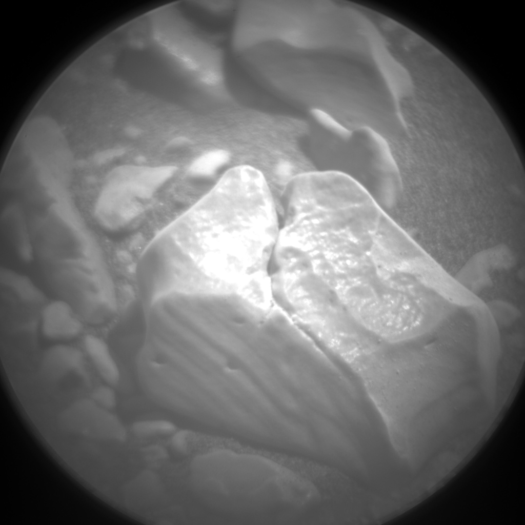 Nasa's Mars rover Curiosity acquired this image using its Chemistry & Camera (ChemCam) on Sol 2931, at drive 424, site number 83