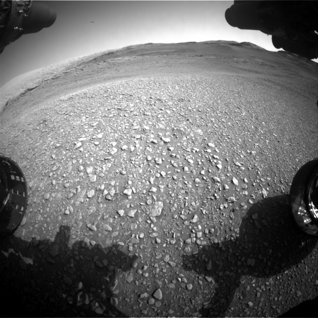 Nasa's Mars rover Curiosity acquired this image using its Front Hazard Avoidance Camera (Front Hazcam) on Sol 2931, at drive 682, site number 83