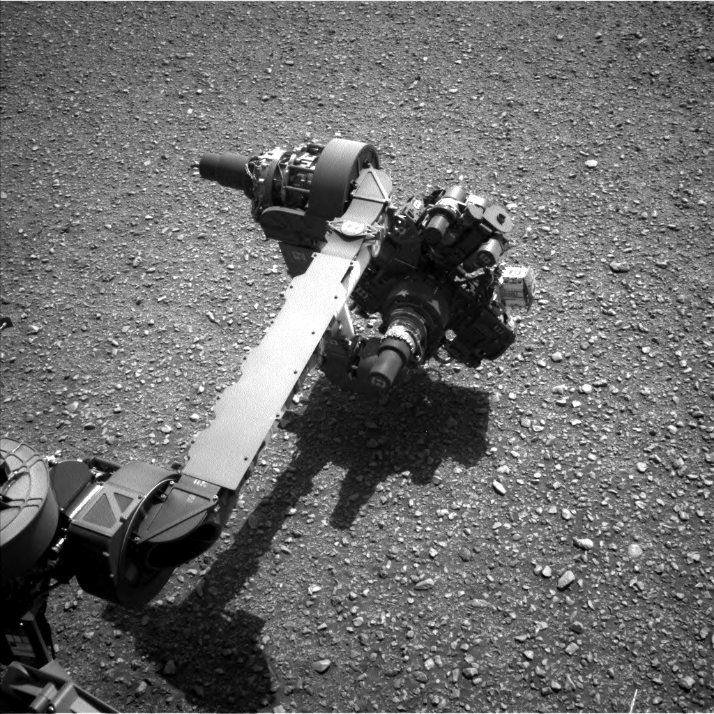 Nasa's Mars rover Curiosity acquired this image using its Left Navigation Camera on Sol 2931, at drive 424, site number 83