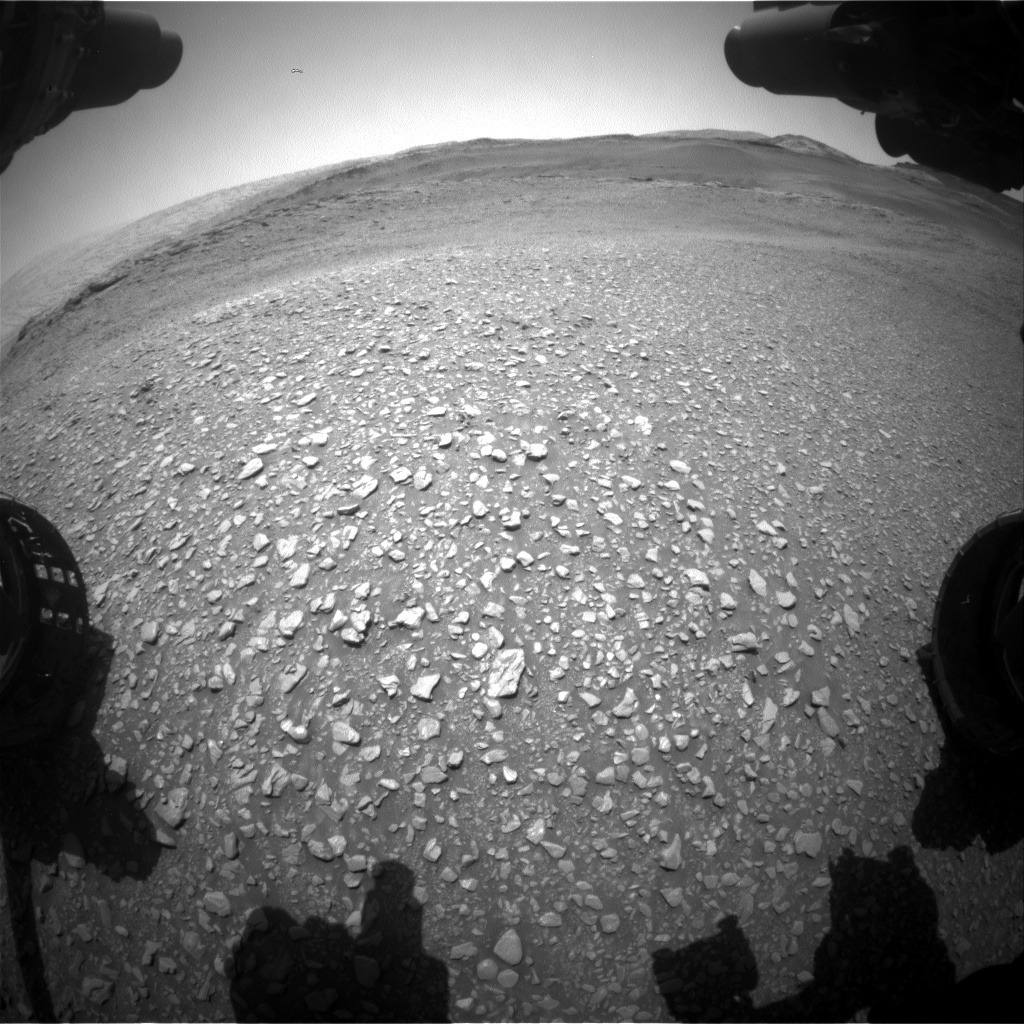 Nasa's Mars rover Curiosity acquired this image using its Front Hazard Avoidance Camera (Front Hazcam) on Sol 2932, at drive 682, site number 83