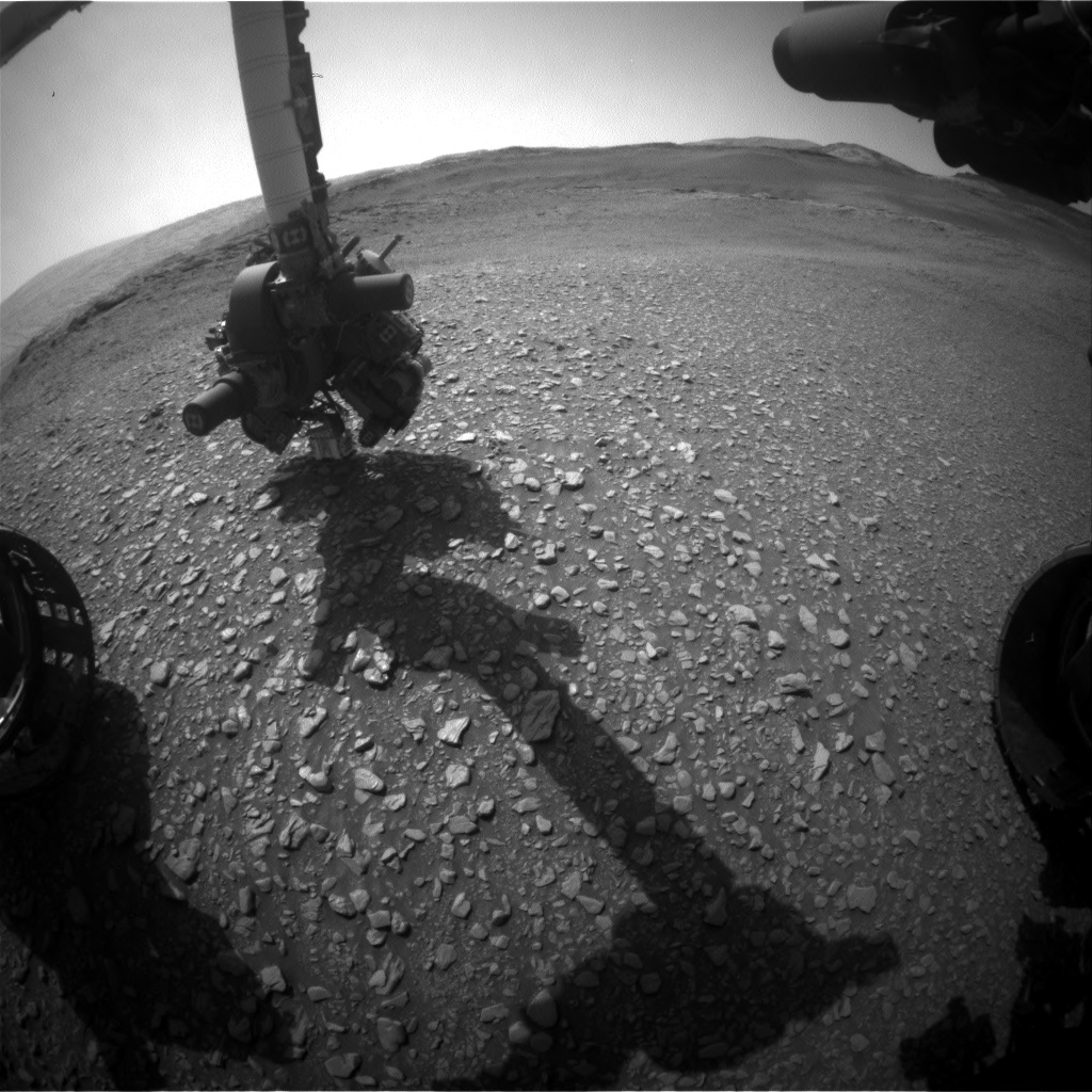 Nasa's Mars rover Curiosity acquired this image using its Front Hazard Avoidance Camera (Front Hazcam) on Sol 2933, at drive 682, site number 83