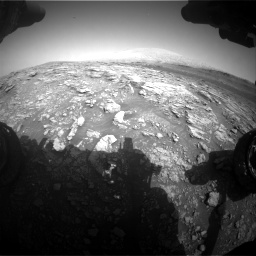 Nasa's Mars rover Curiosity acquired this image using its Front Hazard Avoidance Camera (Front Hazcam) on Sol 2933, at drive 838, site number 83