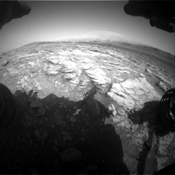 Nasa's Mars rover Curiosity acquired this image using its Front Hazard Avoidance Camera (Front Hazcam) on Sol 2933, at drive 850, site number 83