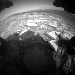 Nasa's Mars rover Curiosity acquired this image using its Front Hazard Avoidance Camera (Front Hazcam) on Sol 2933, at drive 880, site number 83