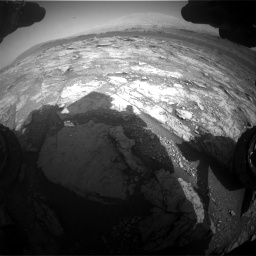 Nasa's Mars rover Curiosity acquired this image using its Front Hazard Avoidance Camera (Front Hazcam) on Sol 2933, at drive 892, site number 83