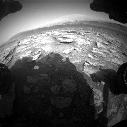 Nasa's Mars rover Curiosity acquired this image using its Front Hazard Avoidance Camera (Front Hazcam) on Sol 2933, at drive 916, site number 83