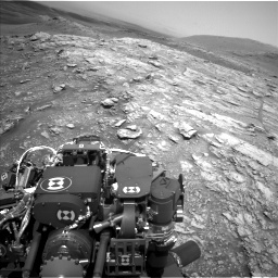 Nasa's Mars rover Curiosity acquired this image using its Left Navigation Camera on Sol 2933, at drive 838, site number 83