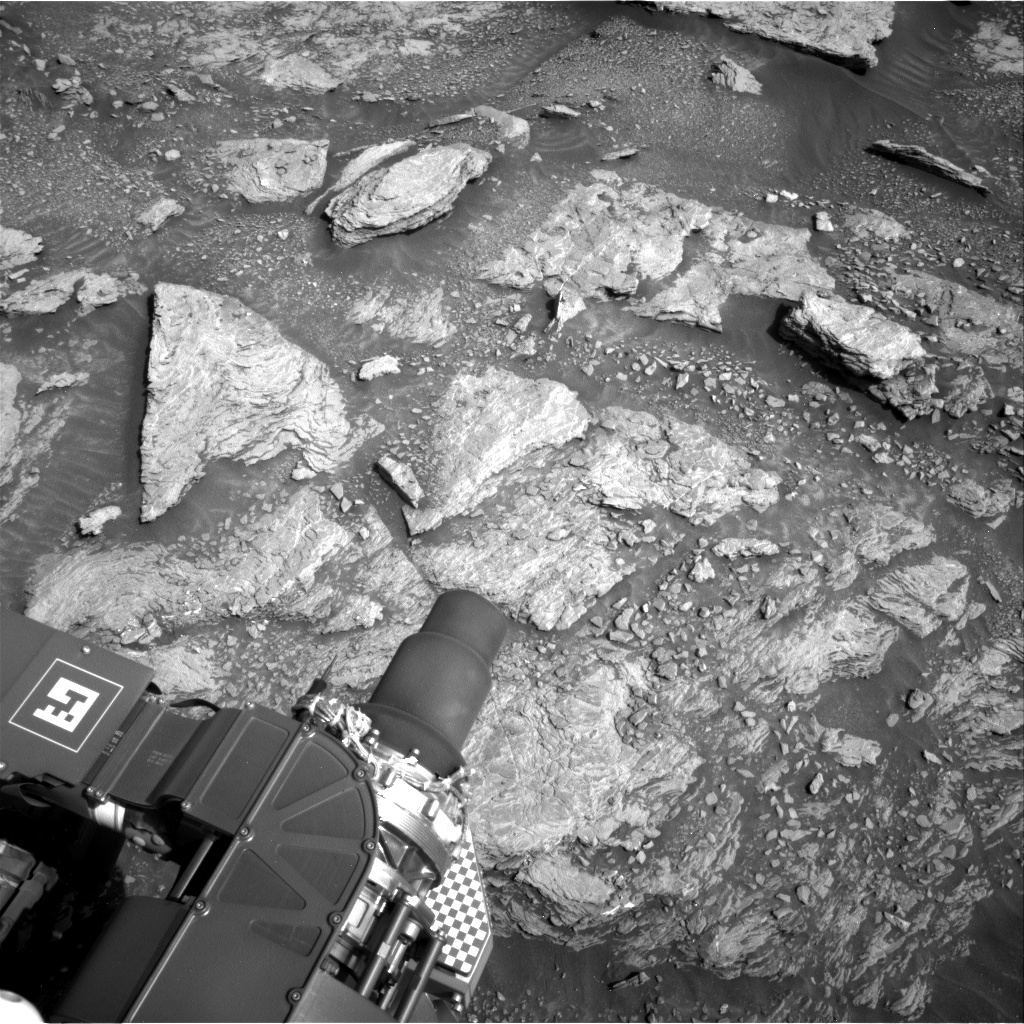 Nasa's Mars rover Curiosity acquired this image using its Right Navigation Camera on Sol 2933, at drive 932, site number 83