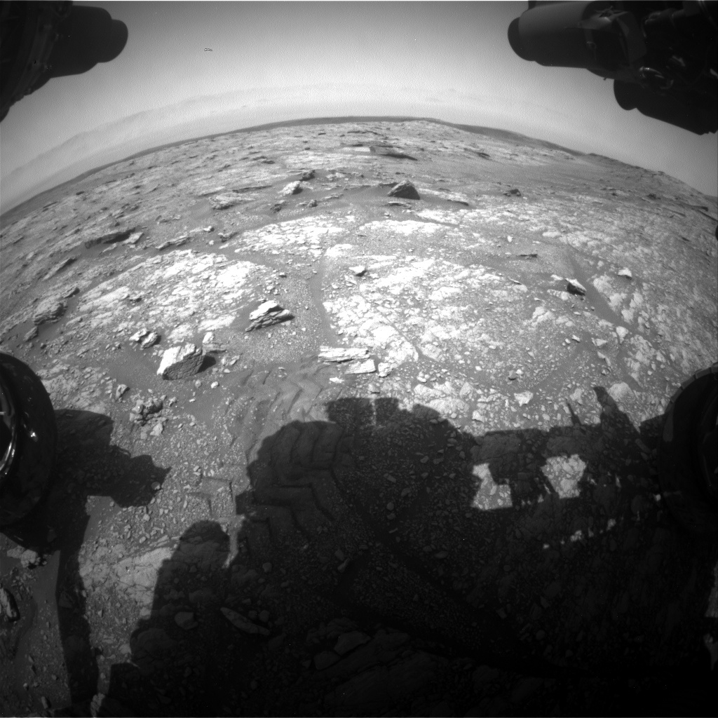 Nasa's Mars rover Curiosity acquired this image using its Front Hazard Avoidance Camera (Front Hazcam) on Sol 2936, at drive 1278, site number 83