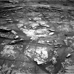 Nasa's Mars rover Curiosity acquired this image using its Left Navigation Camera on Sol 2936, at drive 1022, site number 83