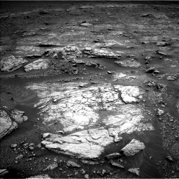 Nasa's Mars rover Curiosity acquired this image using its Left Navigation Camera on Sol 2936, at drive 1076, site number 83